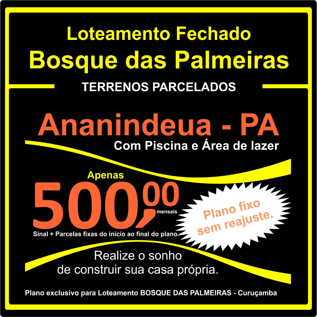 Terrenos-lotes-Bosque-das-Palmeiras-Parreira Corretor-em-Ananindeua-Pará