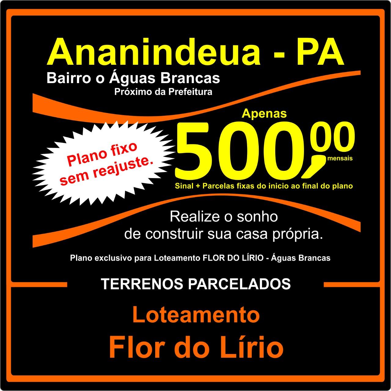Loteamento-Flor-do-Lirio-Terrenos-lotes-Parreira Corretor-em-Ananindeua-Pará